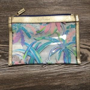 Lilly Pulitzer Sweet Escape Zipper Pouch NEW